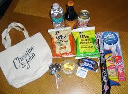 bride blogger welcome bags wedding essentials inspiration