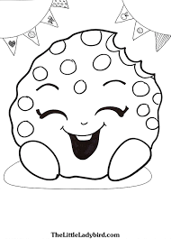 Small Picture Cookie Cookie Shopkin Coloring Page Coloring Coloring Pages