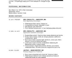 Notable Simple Resume Template Tags Simple Resume Builder I Need