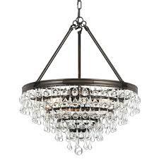 crystal teardrop chandelier calypso 6 light crystal teardrop bronze chandelier elements crystal teardrop mini chandelier