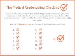 13 Steps To Medical Credentialing Celeriti Medical