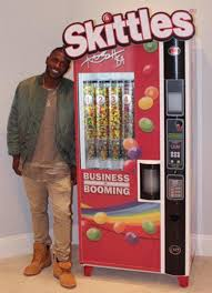 Skittles Vending Machine Unique Antonio Brown Going Full Beast Mode With His Custom Skittles Vending