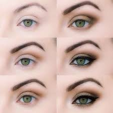 how to green eyes makeup