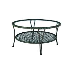 porch side table round patio coffee white outdoor metal whit