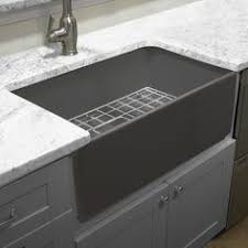 composite farmhouse sink. Gray Rectangle Undermount Granite Composite Kitchen Sink Alongside Single Deep Bowl With Faucet And Silver Cabinet Splashed White Marble Intended Farmhouse