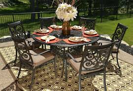round metal patio table stylish outdoor dining table for 6 round table patio furniture sets luxury