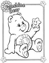 Small Picture Cool Care Bear Coloring Pages Care Bear Coloring Pages Image 8