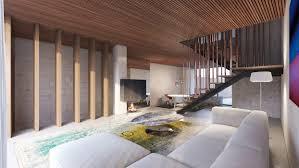 Apartment P1 Moderne Wohnzimmer Von Destilat Design Studio