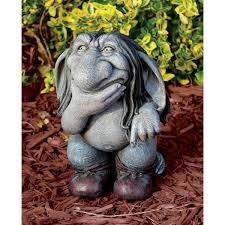 garden troll statues bing images