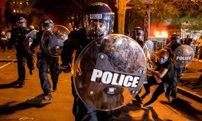 US police used British anti-riot gear at Black Lives Matter protests    Black Lives Matter movement