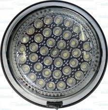 dome light is suitable for the illumination of internal or external areas measuring 144mm in diameter it has an inbuilt on off switch the led