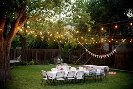 Lamp Decoration Design Picturesque Outdoor Christmas Party At Garden Design Inspiration 95