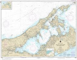 Noaa Chart New York Long Island Shelter Island Sound And Peconic Bays Mattituck Inlet 12358