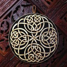 cozy design sacred geometry wall art celtic knot hanging spiritual wood mandala