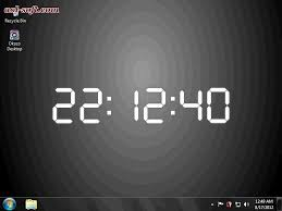 3d digital digital clock digital desktop clock clock desktop clock