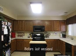 Update Kitchen Fluorescent Light Update Kitchen Fluorescent Lights Kitchen Design