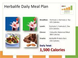 Herbalife Meal Plans Herbalife Meal Plan Barca Fontanacountryinn Com