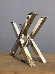 Steel table legs Height 28 Balasagun Best Dining Room Table Legs bespokestainless Steel Polishedbrushed