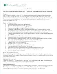 Accounts Payable Resume Adorable Accounts Payable Supervisor Resume Sample Resume For Accounts