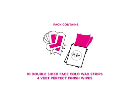 veet face cold wax strips for normal