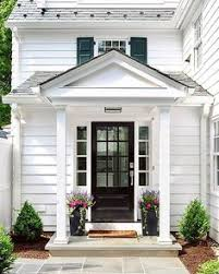 white trad house entrance entrance doors exterior front doors front entry