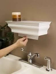 Bathroom Towel Dispenser Concept