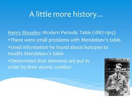 The Periodic Table J. McLeod H. Chemistry. - ppt video online download