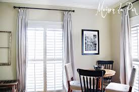 beautiful and cost effective diy drop cloth curtains tutorial via maisondepax com