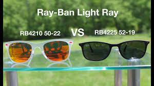 Ray Ban Wayfarer Light Ray Rb4225 Vs Rb4210