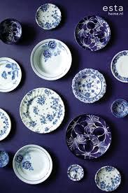Wallpaper Royal Kashmir Delfts Blauw Style Delft Blue Blauw
