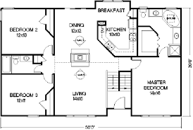 3 Bedroom 2 Bath House Plans New Inspiration