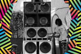 reggae sound system equipment. sound system assembled at st paul\u0027s carnival reggae equipment