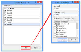 How To Protect Lock An Excel Template Being Overwritten With