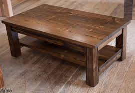Square Rustic Coffee Table Plans Best Office Is Also A Kind Tables Edmonton  Mission Solid Wood