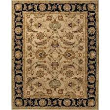 classic oriental beige black wool area rug border orient rugs outdoor ft x chili pepper red