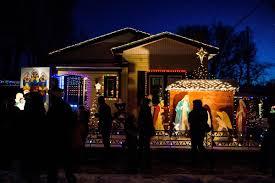 Colorado Lighting Christmas House Lights Up Colorado Springs Street For Last