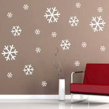 snowflake wall decal nice snowflake wall decals