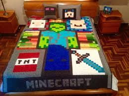 Best 25+ Minecraft quilt ideas on Pinterest   Minecraft blanket ... & Minecraft quilting para Dany . reversible. Adamdwight.com