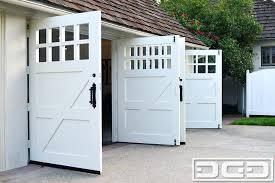 Dynamic Garage Door Projects Custom Made Carriage Style Garage Door