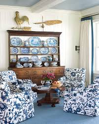 Living Room  Navy Blue Inspirations For Spring Home Decor Ideas Navy And White Living Room