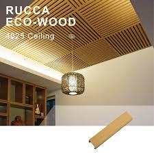 Ceiling Panel Design Foshan Rucca Wpc Wood Composite Pvc Ceiling Panel Interior False Ceiling Panel Design Ceiling Designs For Shops 40 25mm Buy Pvc Ceiling