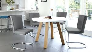 round dining table chairs chairs amazing white gloss and oak arc and form 4 dining set