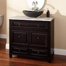 36 Orzoco Vessel Sink Vanity Bathroom Vanities Bathroom Organizzazione Delle Idee Organizzazione Idee