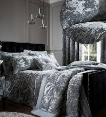 crushed velvet duvet cover set or throw or
