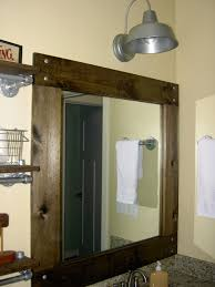Chapman Place Bathroom Redo Part II - Trim around bathroom mirror