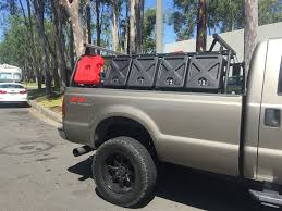 Truck Bed Rack – Active Cargo System for Trucks With 8-Foot Bed