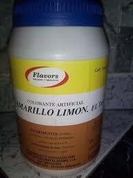 Colorante Artificial Amarillo Limon Flavors Bs 45 000 00 En