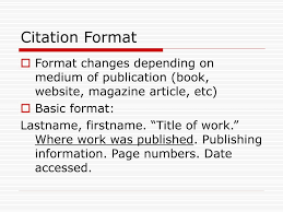 Ppt Mla Citations Works Cited Page Powerpoint Presentation Id