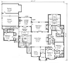 Large Open Floor Plans With Wrap Around Porches  Rest Collection Large House Plans