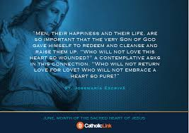 Catholic Quotes On Love Unique 48 Inspiring Quotes For June Month Of The Sacred Heart Of Jesus